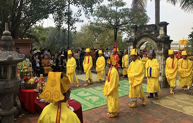Lễ hội Đền thờ Vua Lê Thái Tổ