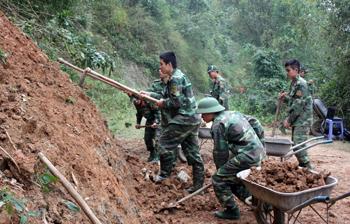 Lực lượng vũ trang quân sự tỉnh: Lan tỏa phong trào thi đua quyết thắng