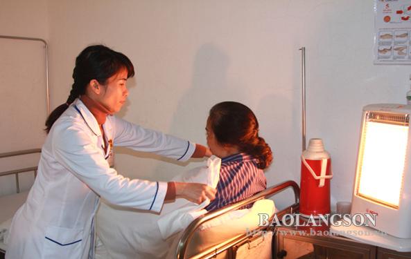 Đảm bảo điều kiện chống rét cho bệnh nhân