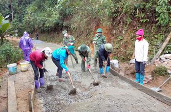 Xây dựng nông thôn mới: Bước chuyển ở Tràng Định