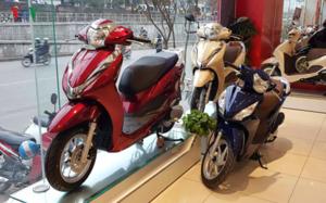 Mọi xe mô tô, xe gắn máy sẽ phải dán nhãn năng lượng