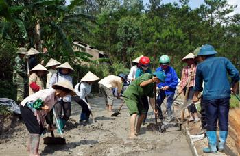 Phát triển giao thông nông thôn: Hiệu quả ở Lộc Bình