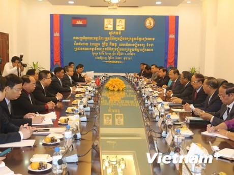 Lãnh đạo Campuchia tiếp Đoàn đại biểu Ủy ban Kiểm tra Trung ương