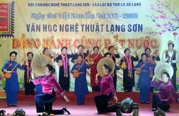 Hội Văn học Nghệ thuật Lạng Sơn: Dấu ấn một nhiệm kỳ