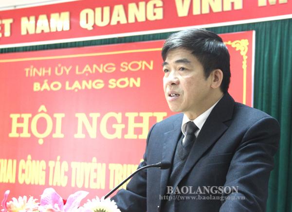 Báo Lạng Sơn triển khai công tác tuyên truyền năm 2019