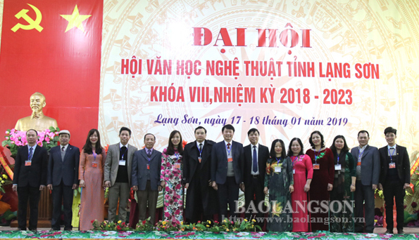 Đại hội Hội Văn học nghệ thuật tỉnh Lạng Sơn khóa VIII, nhiệm kỳ 2018-2023