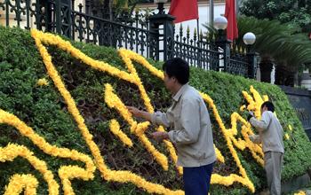 Thành phố Lạng Sơn: Chỉnh trang đô thị đón tết