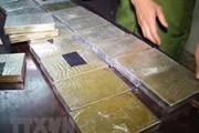 Lào Cai: Bắt hai đối tượng vận chuyển trái phép 10 bánh heroin
