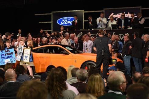 Ford Shelby GT500 2020 đầu tiên được bán với giá 1,1 triệu USD