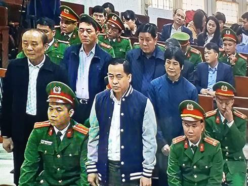 """TAND TP Hà Nội đang xét xử Vũ """"nhôm"""" và 2 cựu Thứ trưởng Công an"""