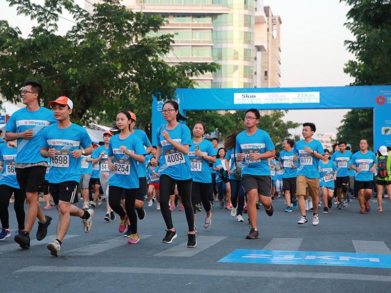 Tổ chức Ngày chạy Olympic vì sức khỏe toàn dân năm 2019