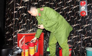 Chủ động phòng chống cháy nổ dịp tết