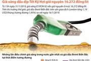 Giữ nguyên giá xăng dầu trong dịp Tết Kỷ Hợi 2019