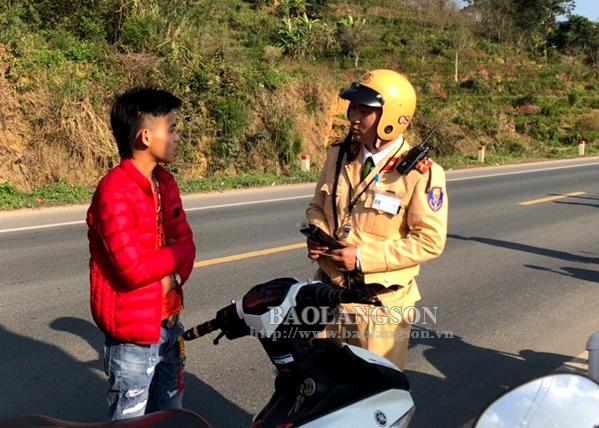 Lạng Sơn: 3 ngày tết không xảy ra tai nạn giao thông