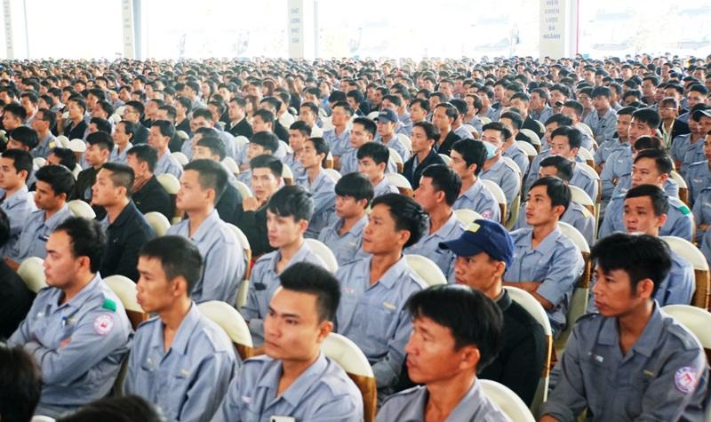 THACO tổ chức lễ ra quân sản xuất đầu năm