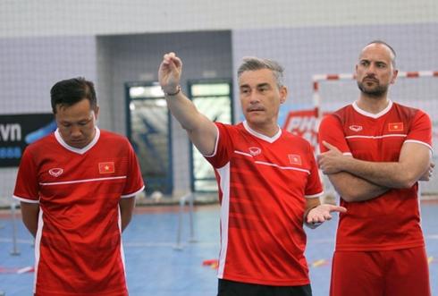 ĐT Futsal Việt Nam sắp đá giao hữu với đối thủ mạnh ở Tây Ban Nha