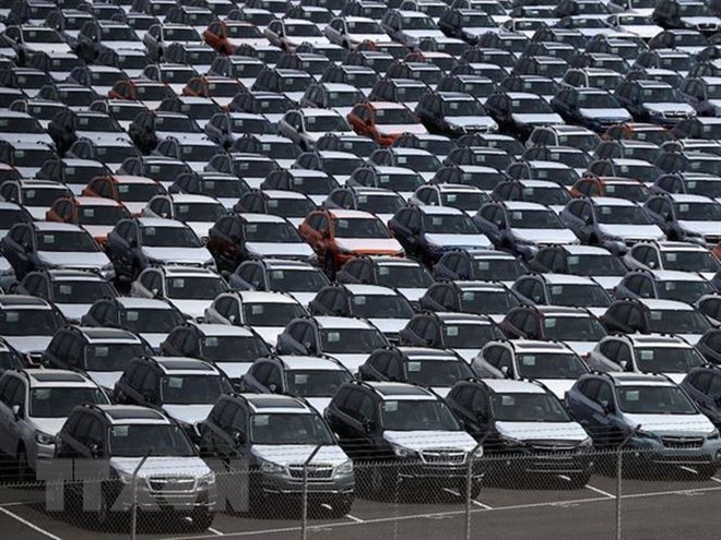 Gia tăng nguy cơ Mỹ áp thuế bổ sung với ôtô nhập khẩu từ châu Âu