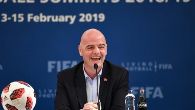 Chủ tịch FIFA lạc quan với kế hoạch nâng số đội dự World Cup 2022