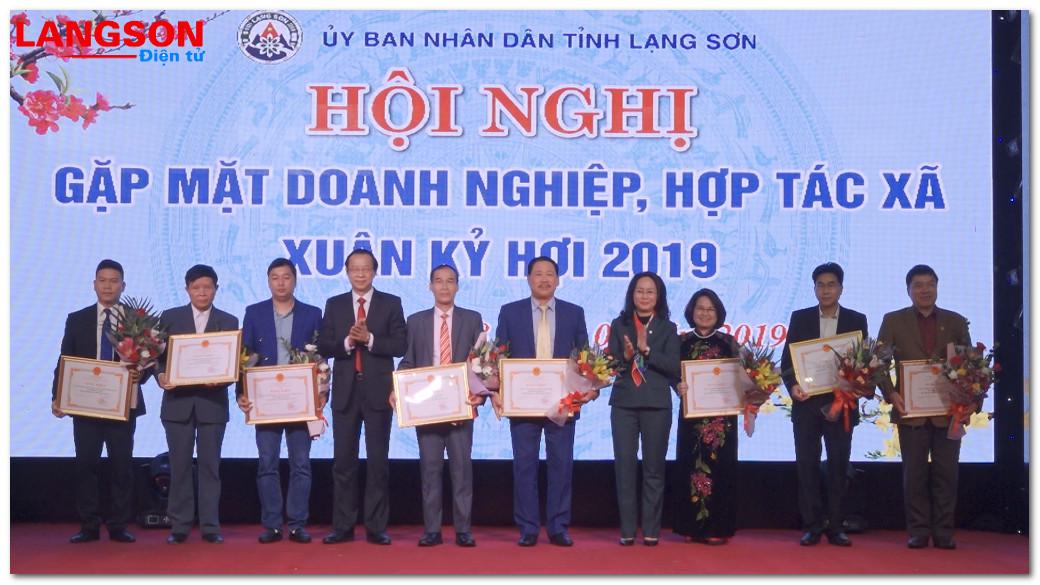 Hội nghị gặp mặt doanh nghiệp, hợp tác xã Xuân Kỷ Hợi 2019