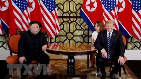 Triều Tiên phát sóng bộ phim tài liệu về Hội nghị thượng đỉnh Mỹ-Triều