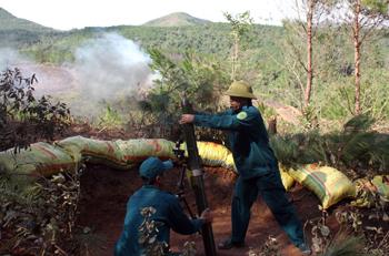 Đảng bộ Quân sự huyện Đình Lập xây dựng đơn vị vững mạnh
