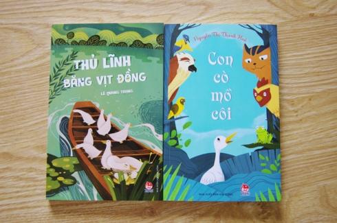 NXB Kim Đồng ra mắt 2 tác phẩm văn học thiếu nhi về miền Tây Nam Bộ