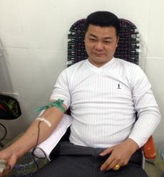 Tấm gương tiêu biểu trong phong trào hiến máu tình nguyện