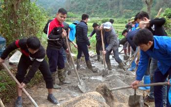 Phát huy sức dân xây dựng nông thôn mới