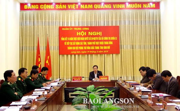 Tổng kết 10 năm thực hiện Nghị quyết 28 của Bộ Chính trị