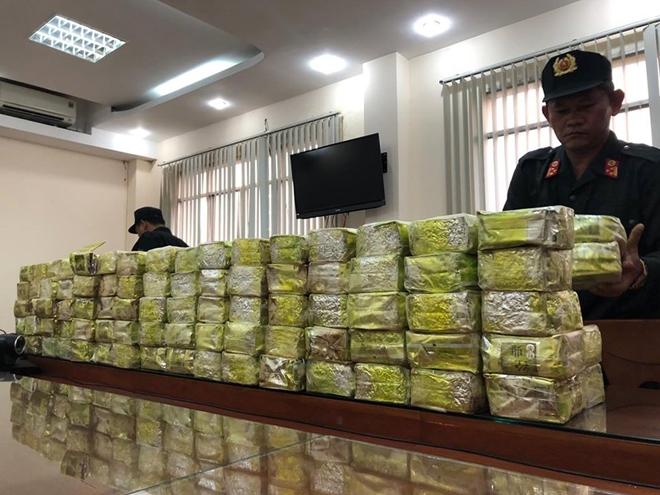 Triệt phá đường dây ma túy xuyên quốc gia cực lớn