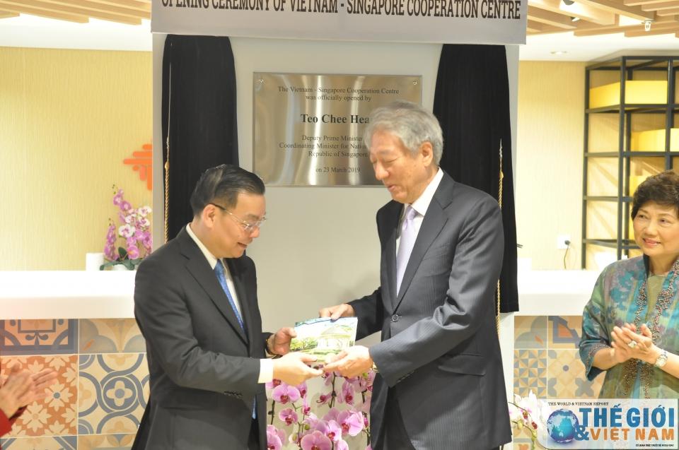 Khai trương Trung tâm Hợp tác Việt Nam-Singapore