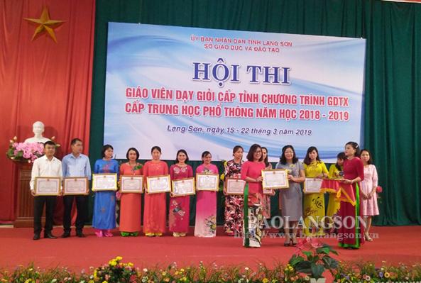 31 giáo viên đạt giáo viên dạy giỏi cấp tỉnh