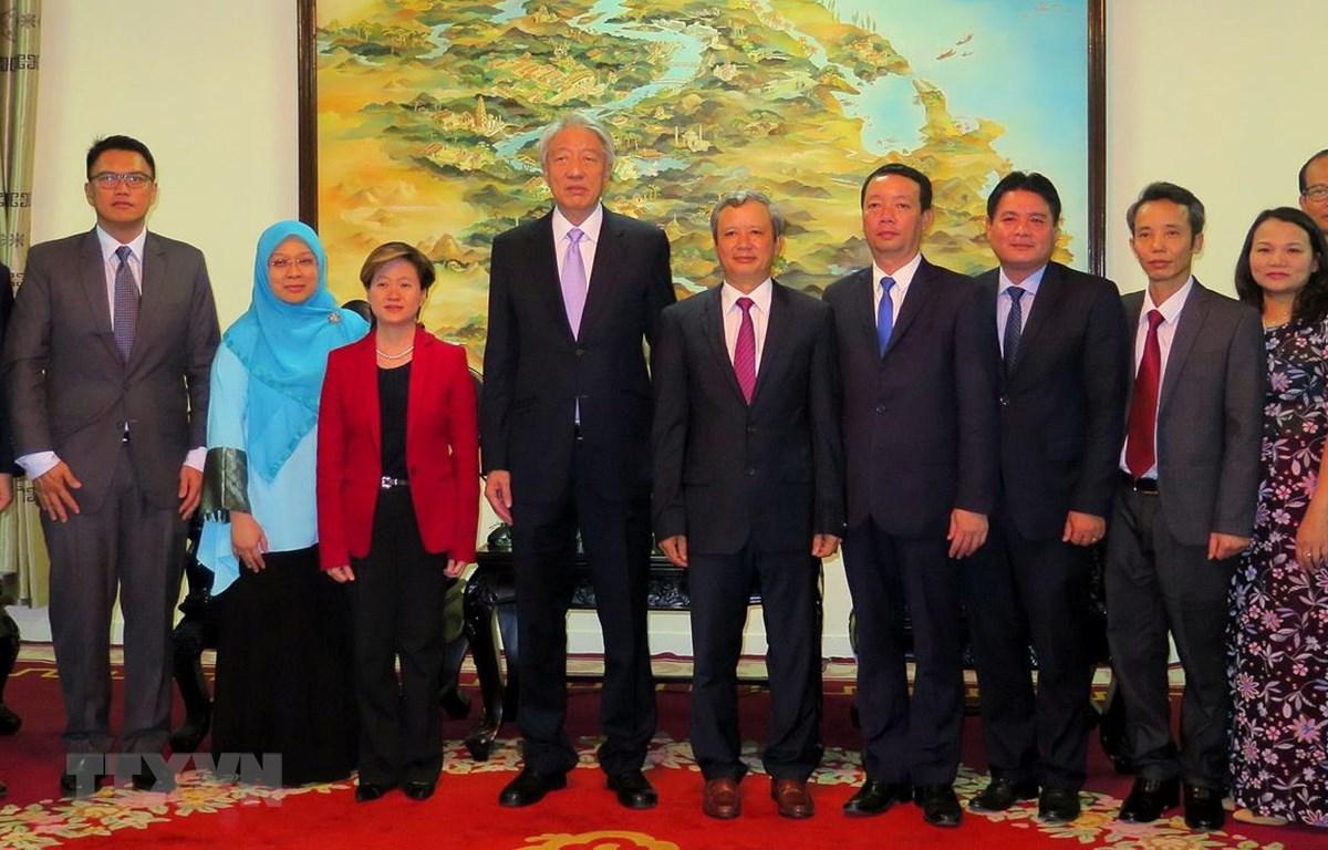 Phó Thủ tướng Singapore Tiêu Chí Hiền thăm tỉnh Thừa Thiên-Huế