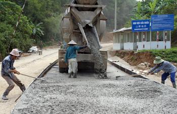 Xây dựng nông thôn mới ở các xã biên giới: Chuyển biến bước đầu