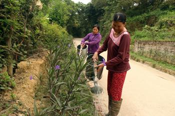 Phụ nữ Đồng Bục tích cực xây dựng nông thôn mới