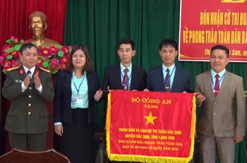 Thị trấn Bắc Sơn - Điểm sáng phong trào toàn dân bảo vệ an ninh Tổ quốc