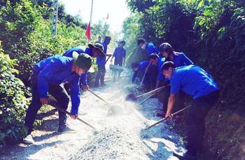 Cao Lộc: Đảng viên trẻ nêu gương xây dựng đời sống văn hóa