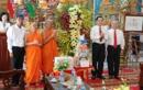 Chủ tịch MTTQ Việt Nam chúc Tết cổ truyền Chol Chnam Thmay ở Sóc Trăng