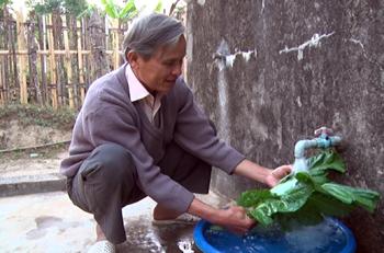 Bắc Sơn: Nâng cao tỷ lệ người dân sử dụng nước sinh hoạt hợp vệ sinh