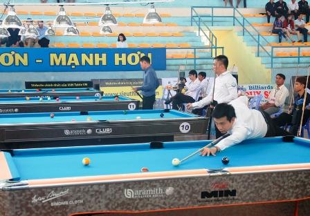 Vòng chung kết giải Billiards & Snooker Vô địch quốc gia 2019 tại Đà Nẵng