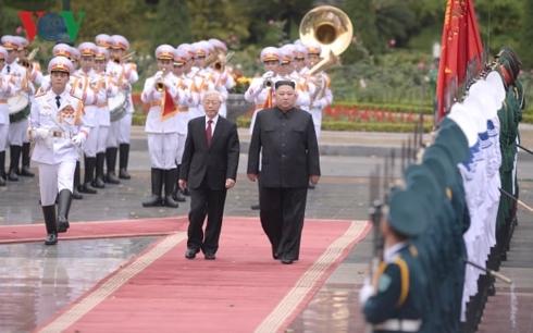 Tổng Bí thư, Chủ tịch nước gửi Điện mừng Chủ tịch Triều Tiên Kim Jong Un
