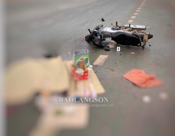 Tai nạn giao thông một người tử vong