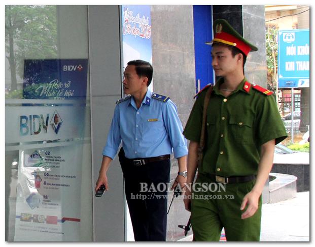 Ngân hàng BIDV đảm bảo an ninh, an toàn ngân hàng