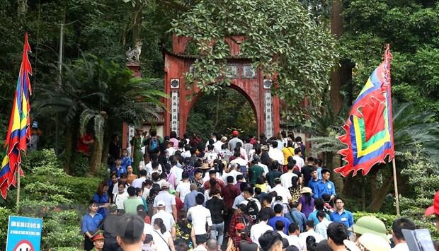 Phú Thọ đón hơn 7 triệu lượt khách dịp Giỗ tổ Hùng Vương