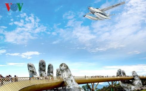 Ngắm cảnh Đà Nẵng - Huế từ trên thủy phi cơ