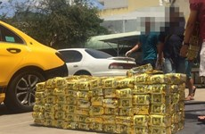 Triệt phá đường dây mua bán hơn 1,1 tấn ma túy giấu trong loa di động