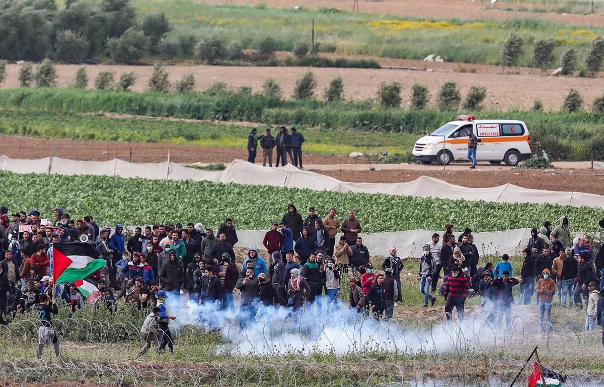 Dân Palestine đụng độ binh sỹ Israel, ít nhất 48 người bị thương