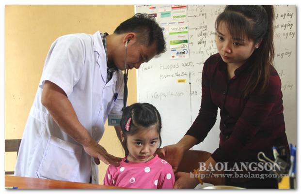 Tăng cường chăm sóc sức khỏe cho nhân dân