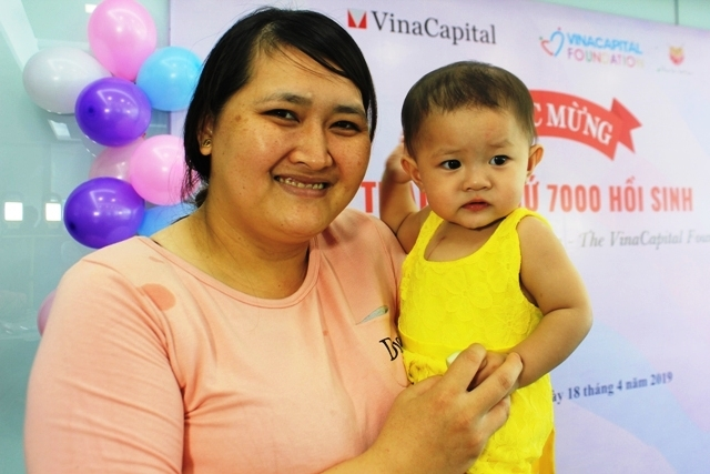 7.000 trẻ em được phẫu thuật tim miễn phí