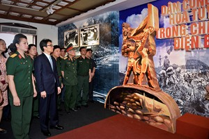 Tri ân đóng góp to lớn của lực lượng dân công hỏa tuyến